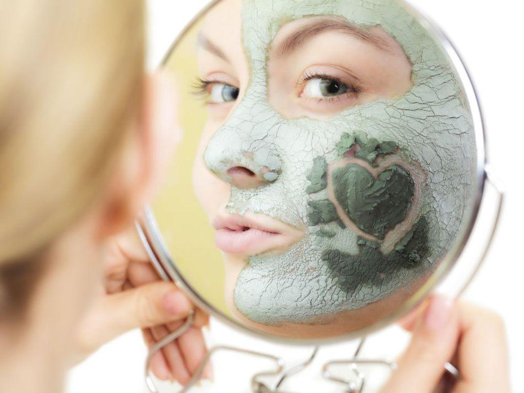 masque visage argile verte