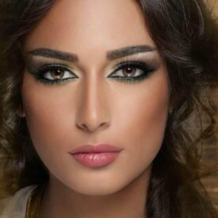 Maquillage oriental, libanais réalisé à lAtelier du