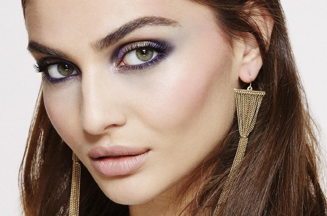 maquillage pour les yeux pour visage rond