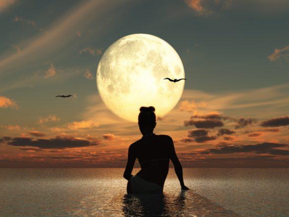 épilation avec fonction de la lune