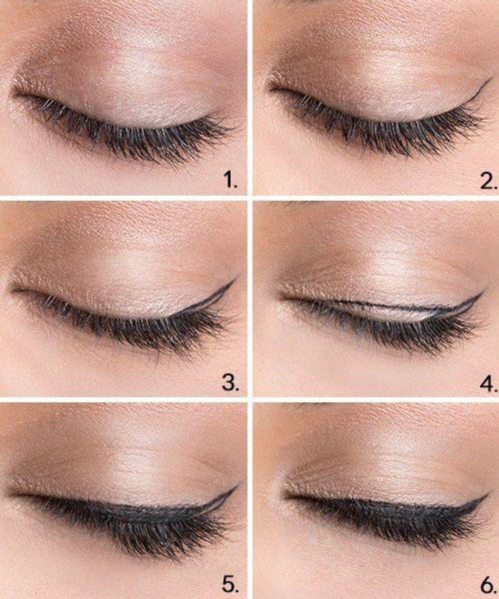 étapes pour réaliser un maquillage yeux de biche