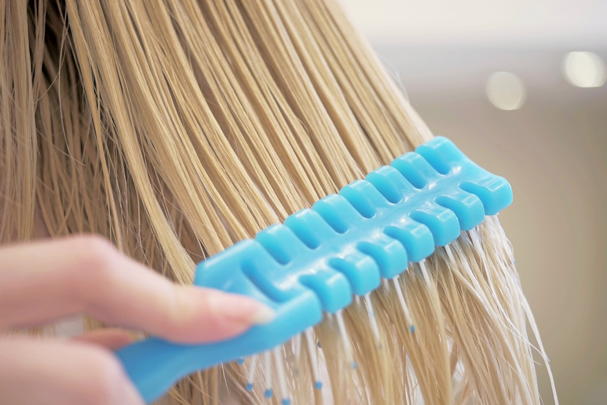 décoloration des cheveux avec eau oxygénée