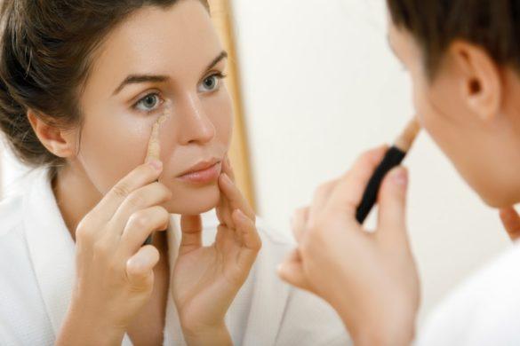 faire disparaître des cernes creux avec du maquillage