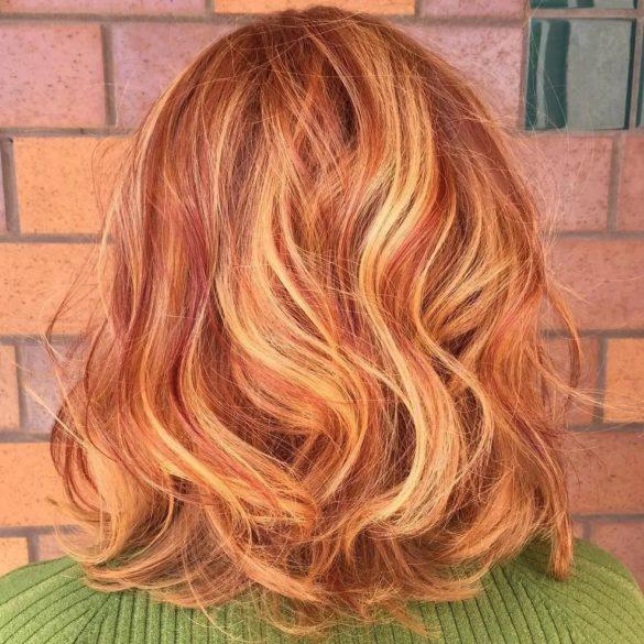 Blond cuivré