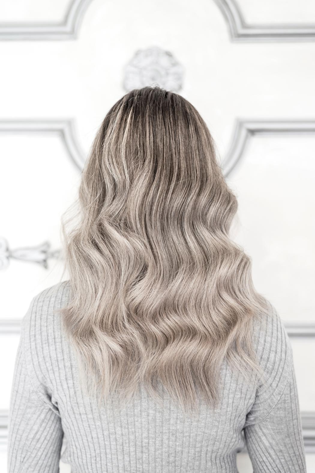 balayage ou meches sur cheveux blancs