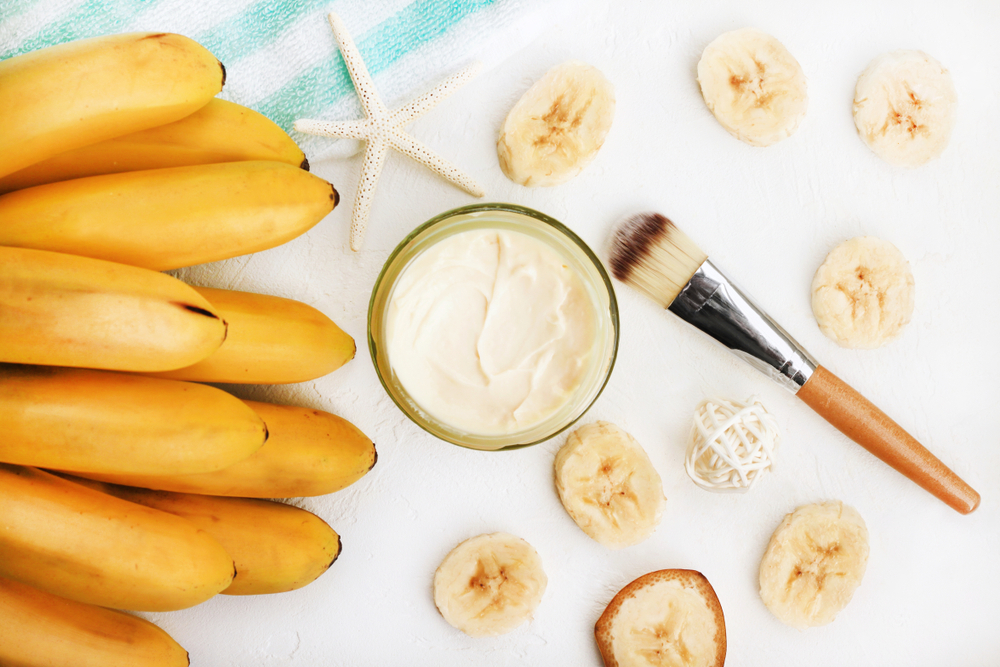 banane masque cheveux