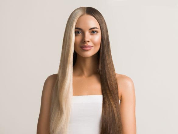 Split hair tout savoir sur cette tendance de coloration bicolore