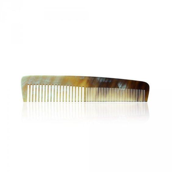 peigne en corne cheveux