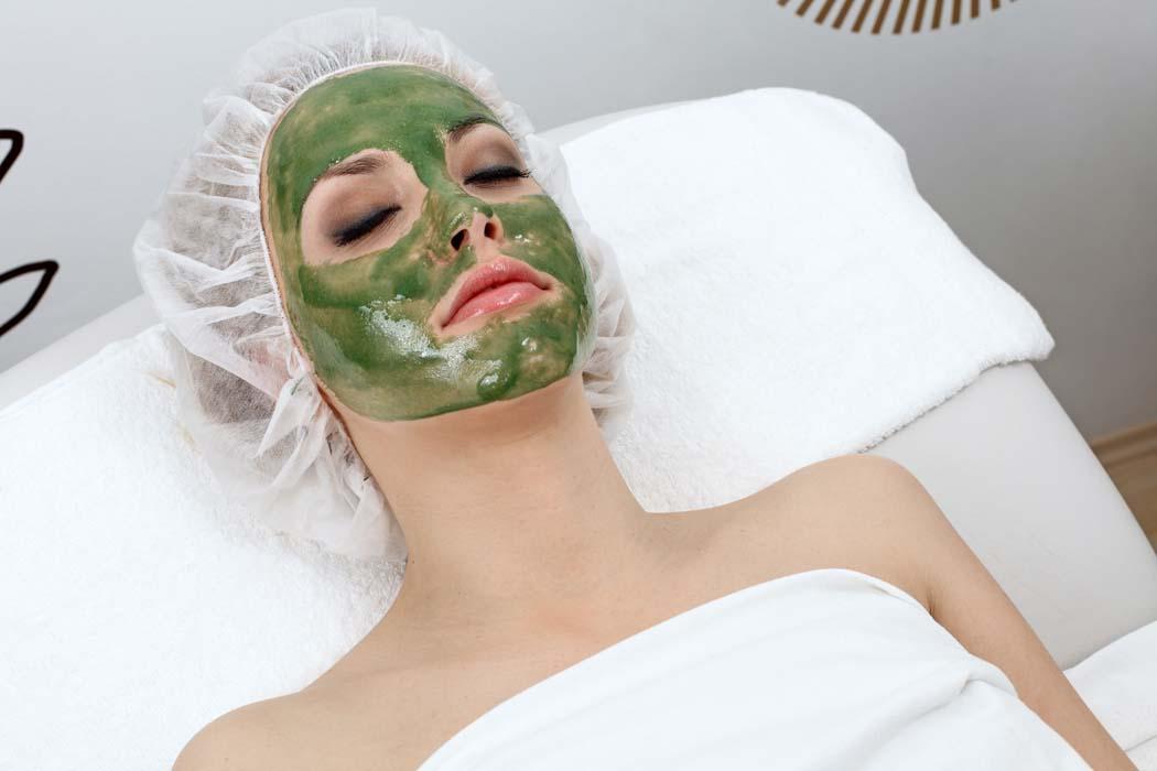 masques naturels algues