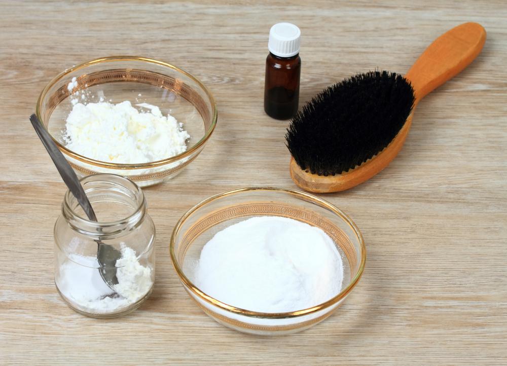 shampoing sec recette