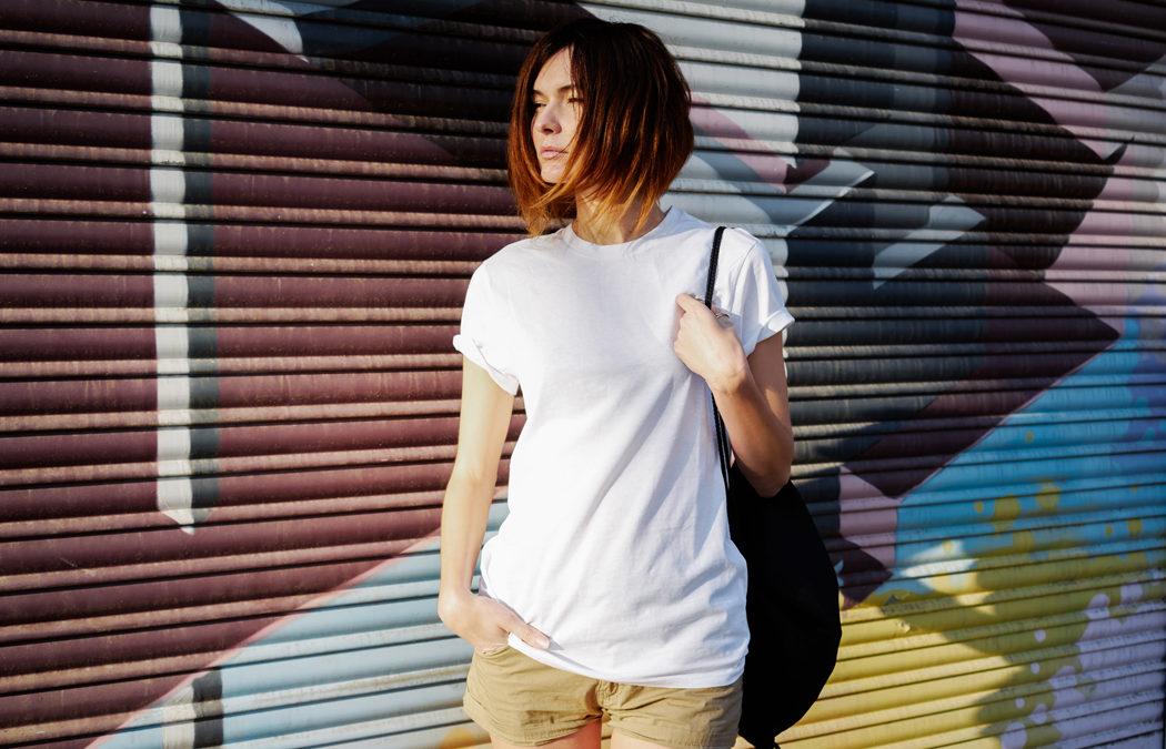 T-shirt en coton bio : stylé, éthique, sain, confortable… on adore