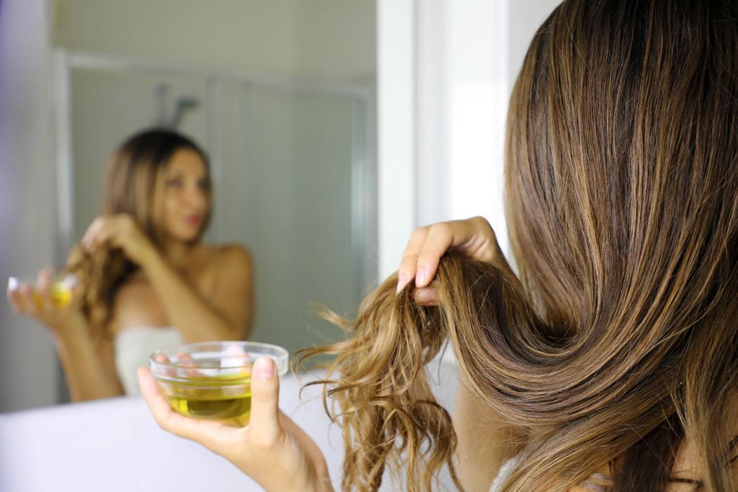 masque cheveux secs huile