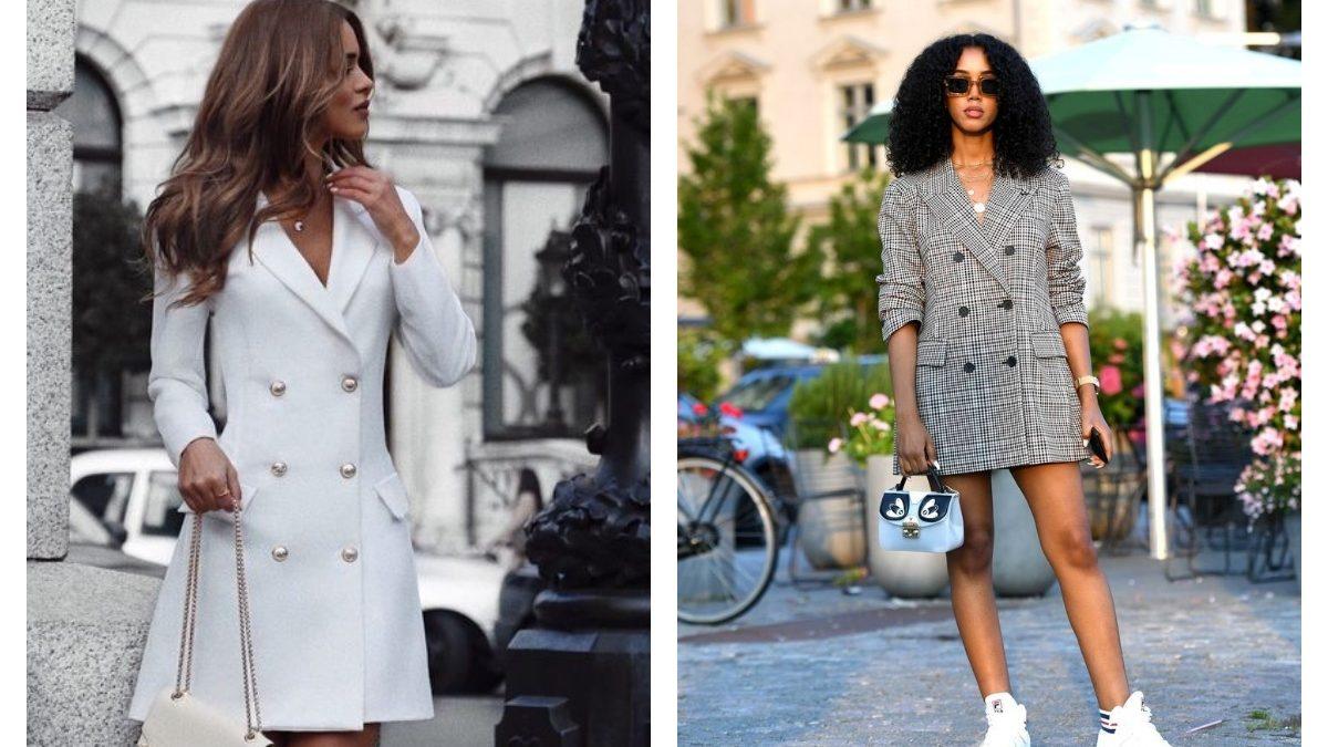 Robe blazer : conseils et idées looks pour bien la porter