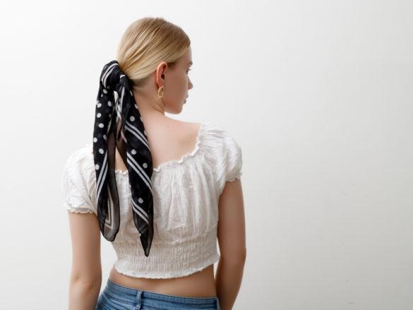 Foulard cheveux 10 façons de le porter
