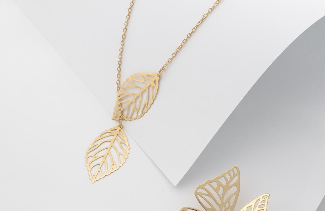 bijoux feuilles