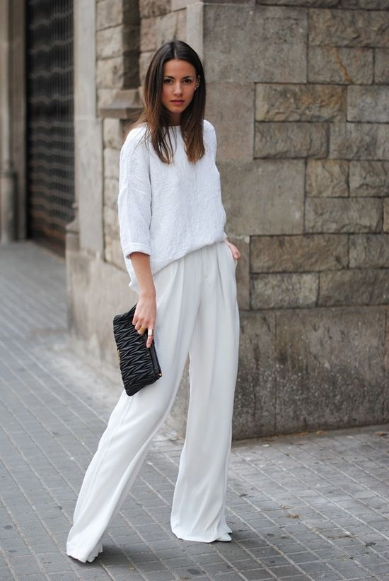 palazzo femme pantalon